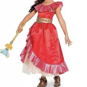 Disney Elena of Avalor Girl Dress Costume Sz 9/10